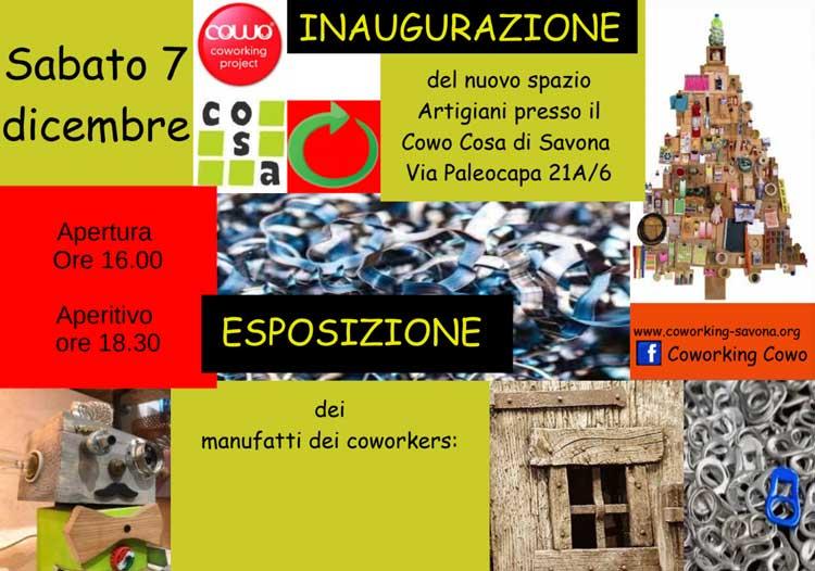 Inaugurazione Coworking Artigiano Savona